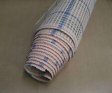 Zweigart Blue Interlock Latch Hook Canvas for Rug Making, 150cm width 3.75 HPI