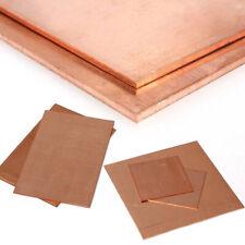 Cuivre Tôle 1,5mm Cu-Dhp Feuille de Plaque Kupfer-Blech