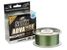 Sufix Advance Lo-Vis Green 300m 0.20mm-0.30mm Monofilamento NUEVO 2018