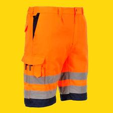 PLANAM WARNSCHUTZ Short Arbeitsshort Berufsshort Herrenshort Straßenbau Baushort