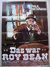 DAS WAR ROY BEAN - Paul Newman, Jacqueline Bisset - Filmplakat A1 - WESTERN