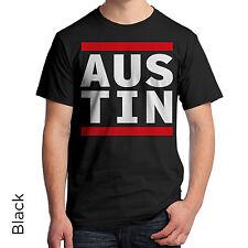 Austin Texas T-Shirt 80's Retro Shirt DJ Music Urban Hip Hop