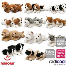 Aurora MIYONI CATS & DOGS PLUSH Cuddly Soft Toy Teddy Kids Gift Brand New