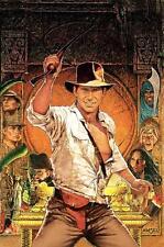 Raiders of the Lost Ark Película Póster de Película sin diálogo de Ford A4 A3 impresión De Arte Cine