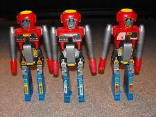 1984 Gobots & Arco Lot of 3 Rogun Shotgun Rifle Transformer Robots for Parts
