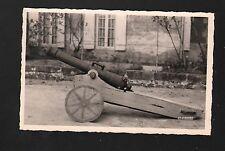 JARNAGES (23) CANON en BOIS , gros plan en 1950