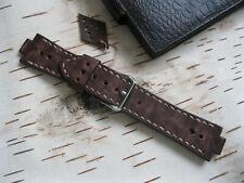 Handmade Leather Vintage Watch Strap Oris Aquis, Oris Diver tt1, Brown