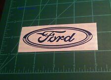 Ford Racing Custom made Vinyl  Sticker Car Window BumpersTool Box Movies Games