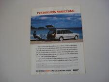 advertising Pubblicità 1988 AUSTIN MONTEGO ESTATE