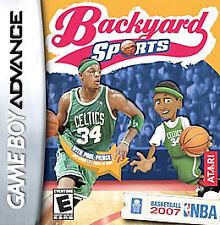 Video Game GBA Gameboy Advance Backyard Sports Basketball 2007 NBA Paul Pierce
