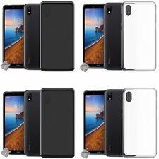 Housse etui coque pochette silicone gel fine pour Xiaomi Redmi 7A + film ecran