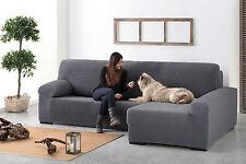 funda bielastica sofa chaise longue derecha brazo largo izquierda silla respaldo