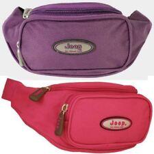 OFFICIAL JEEP WOMENS WAIST BUM BAG MONEY BELT TRAVEL HOLIDAY SAFE POUCH COIN BAG