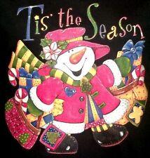 Tis the Season to Shop Snowman Shirt, SnowWoman :  ), Vintage Christmas, Sm - 5X