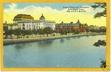 Japanese Postcard - Empire Theatre Police Board Tokyo