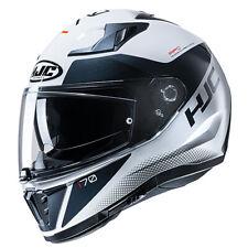 HJC I70 Tas MC10 White Full Face Motorcycle Helmet - Hjc i70 Helmet EZ