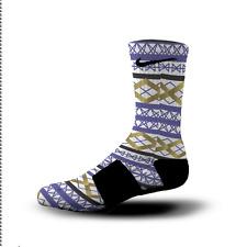 Custom Nike Elite Socks All Sizes GEOMETRIC PRIDE