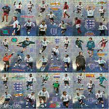 MERLIN England Football Shiny Stickers 1990s - VARIOUS
