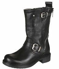 Momino 3552M Stiefel Stiefeletten Boots Lammfell Winterstiefel Leder 30-40 Neu