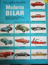 Fib's Gyllene Pysselbok Moderna Bilar 1957 1955 1:95