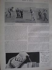 Printed photos Muirfield amateur golf championship Maxwell v hutchinson 1903
