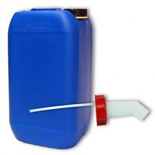 Bidon plastique 15 L Bleu DIN 61 + 1 bec verseur, Alimentaire (22246+019)