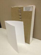 250 Sheets Fujifilm 5x7 White Greeting Card Paper 60lb Stock Scored 10x7 Sheet