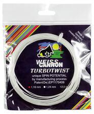 Weiss Cannon Turbo Twist 17 1.24mm Tennis Strings Set