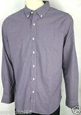 Levis Shirt Standard Fit 100% Cotton Red Blue Small Check Plaid  Levi's