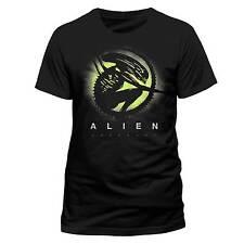 Alien: Pacto ALIEN SILHOUETTE Oficial Negro Unisex Camiseta RIDLEY SCOTT