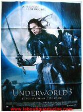 UNDERWORLD 3 Affiche Cinéma / Poster VAMPIRE LYCANS