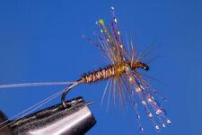 Fliegentom mouche sèche 3 pièces - Brown Spinner