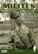 MILITES n40 rivista militaria magazine CCNN Balilla PNF  XV Bt coloniale pagelle