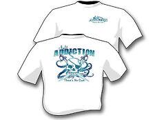 Salt Addiction Fishing t shirt,Saltwater shirt,Ocean,beach,life,pirate shirt
