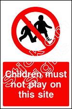 I bambini non deve svolgere in questo settore cons0022 costruzione cantiere SEGNALETICA