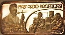 First Radio Broadcast, America's Greatest Events, The Hamilton Mint Silver Ingot