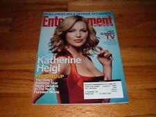 EW 938 KATHERINE HEIGL Bob Marley ZIGGY Grey's Anatomy Entertainment Weekly Mag