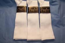 6 pr White Graduated Compression Socks..Sz..Large Men's 10-13 Women's 11-14