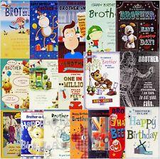 Hermano/Hermano-in-Law Cumpleaños Tarjeta-varios Diseños Disponibles