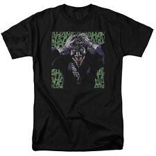 THE JOKER Insanity Batman DC Comics Licensed Adult T-Shirt SM-5XL