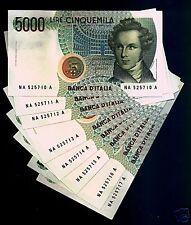 """5000 Lire Bellini Lettera  """"A """"   q.FDS"""