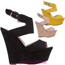 Chaussures pour femmes sabot chaussures à semelle compensée plateau sandales