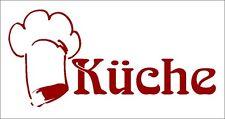 Aufkleber Küche, Türaufkleber aus geschnittener Folie, hochwertiges Material
