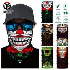 Skull Clown Ski Cycling Neck Tube Scarf Face Mask Balaclava Bandana Halloween