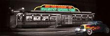 Helen Flint: Mickey's Diner Keilrahmen-Bild Leinwand Fifties Amerika Oldtimer