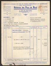"""DUNKERQUE (59) HUILE de FOIE DE MORUE """"HUILERIES DES PAYS DU NORD"""" en 1955"""