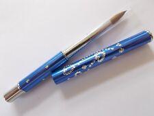 Kolinsky Sable Nail Acrylic Art Brush Diamond Professional NAB87 ROYAL ? BLUE