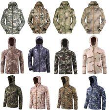 Waterproof Tactical Military Soft Shell Men Jacket Coat Army Windbreaker Outdoor
