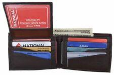 Marshal's Essentials Men's Bi-Fold Genuine Leather Wallet Assorted Styles