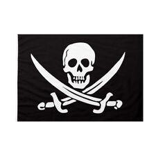 Bandiera da bastone Pirati dei Caraibi Jolly Roger 50x75cm